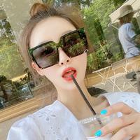 女偏光防紫外线大脸显瘦方形太阳镜值得买吗