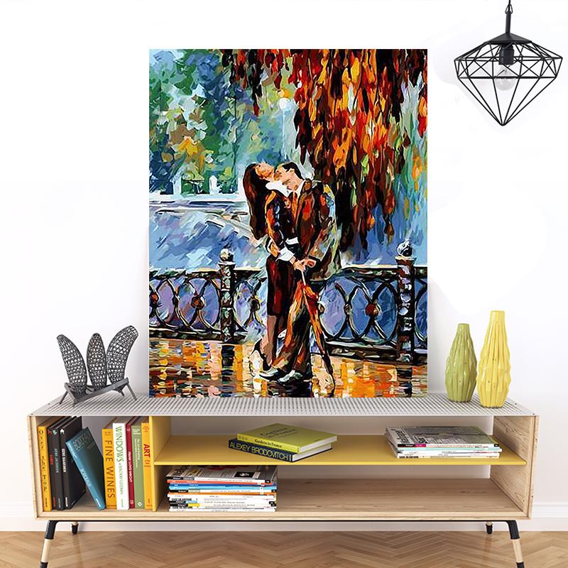 品都 色彩缤纷炫彩diy数字油画手绘减压填色客厅餐厅卧室装饰挂画