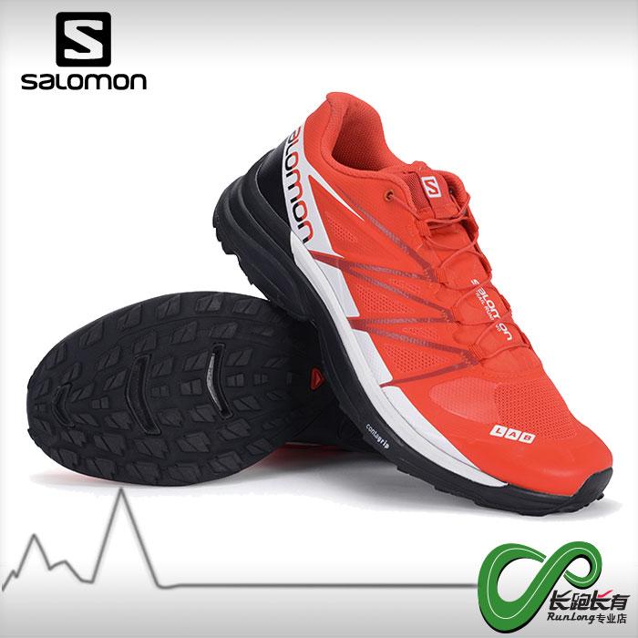 Salomon萨洛蒙男女款户外竞赛越野跑步鞋抓地大红鞋S-LAB WINGS 8