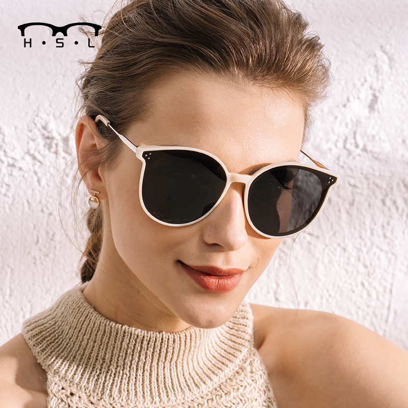 2020 new GM Sunglasses Womens Korean version Chaowang red face fashion street shooting star same Sunglasses UV protection