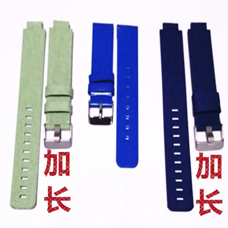 Extended childrens telephone watch strap 16mm universal watch strap canvas strap 360p1 / se5 / 7X Mimi rabbit