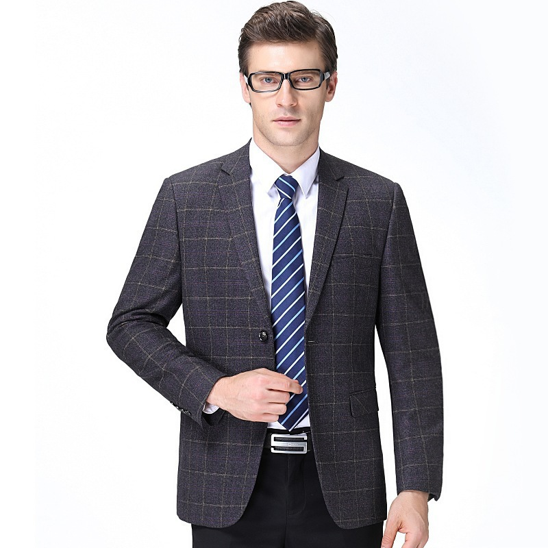 Mens suit in autumn and winter