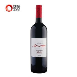 酒美网法国原瓶进口波尔多梅多克中级庄 爱之堡干红葡萄酒2012