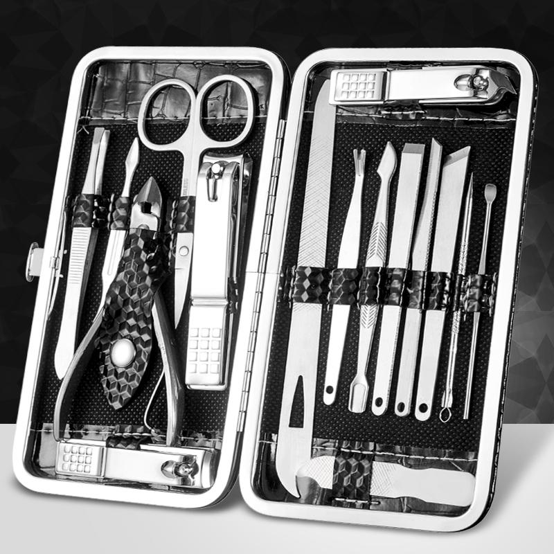 修剪指甲刀套装家用大号指甲钳修甲工具修脚刀指甲剪不锈钢成人