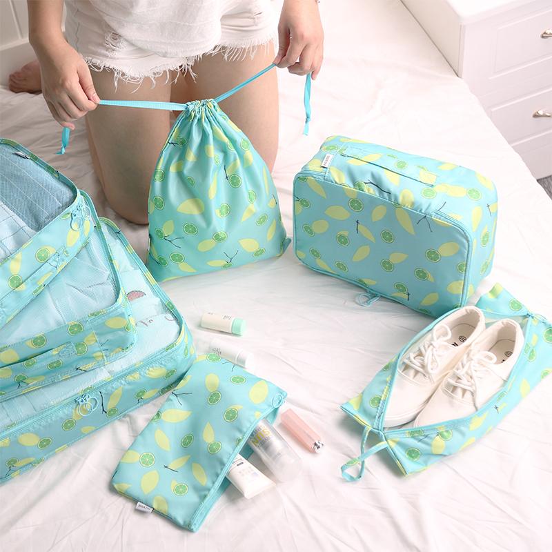 旅行收纳袋收纳包整理袋衣服打包袋行李箱内旅游必备分装包套装女