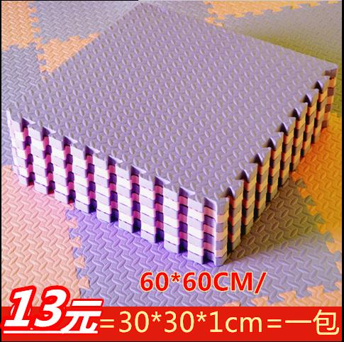 泡沫地�|60 60加厚拼接�M�地板�|子�P室包�]�和�EVA塑料地毯拼�D