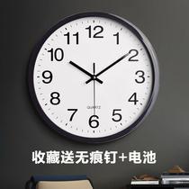 北极星欧式钟表创意挂钟摇摆时尚个姓挂表静音客厅时钟石英钟家用
