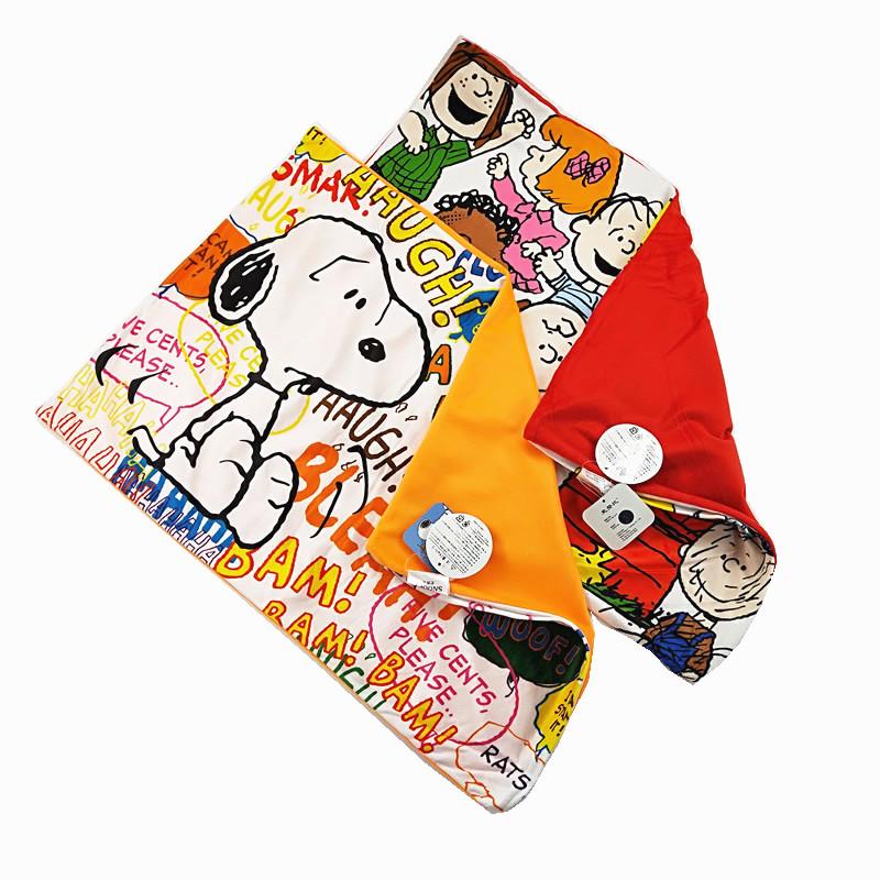 包邮可爱卡通周边小狗史努比枕头套snoopy拉链抱枕套成人乳胶枕套