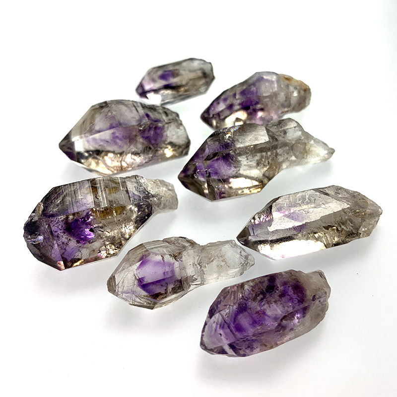 Natural amethyst super seven Amethyst original stone backbone double pointed water gall Scepter energy Namibia