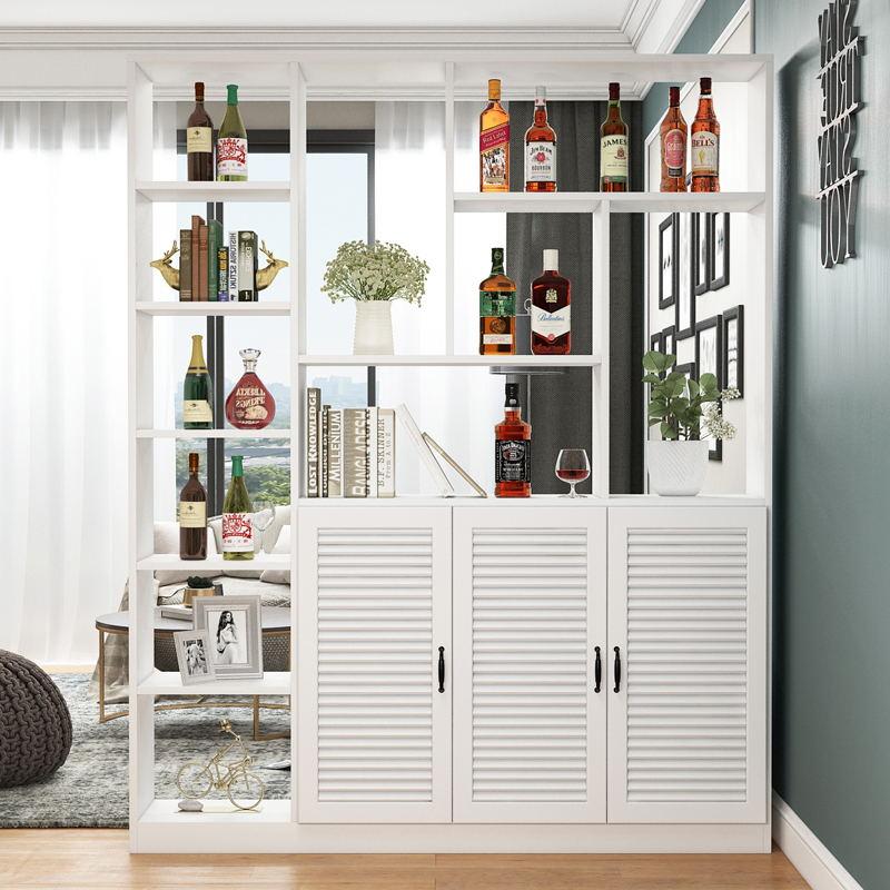 酒柜进门玄关柜现代简约储物柜展示柜入户屏风柜门厅柜客厅隔断柜