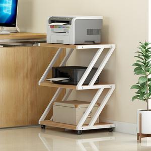 包邮家用打印机置物架桌面办公室置物架多功能落地可移动收纳架子