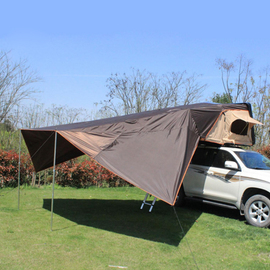 车顶帐篷硬壳全自动SUV皮卡汽车车载帐篷房自驾游硬顶车顶床帐蓬图片