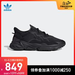 阿迪达斯官网 三叶草 OZWEEGO男女经典运动鞋FV9663 FV9665