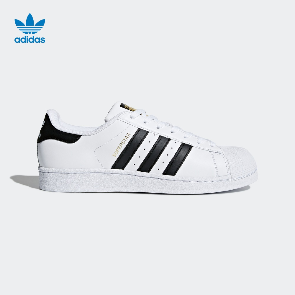 阿迪达斯adidas官网 三叶草 SUPERSTAR 男女经典板鞋运动鞋C77124