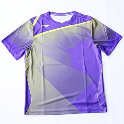 进口正品李宁东南亚限量版羽毛球服 男圆领速干透气短袖t恤 3色