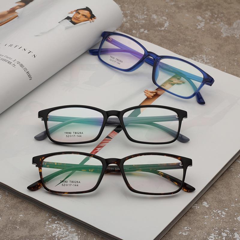 欧莱欧8028A超轻tr90配近视眼镜架2018新款男女眼镜框全框架镜