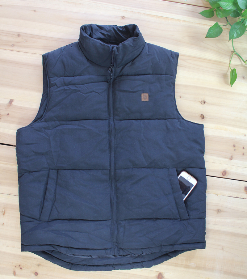 Oversize vest autumn and winter fat middle aged and old mens coat