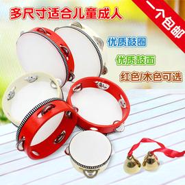 北京舞蹈学院考级儿童手铃鼓铃铛/碰钟手鼓幼儿园老师用舞蹈铃鼓