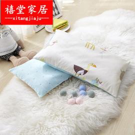 卡通儿童枕头3-6岁幼儿园小孩婴童枕头卡枕头幼儿枕芯枕芯午睡枕