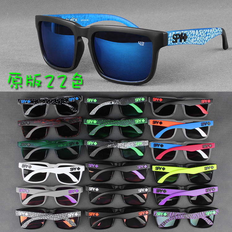 Popular mens color reflective lenses sunglasses cycling motorcycles outdoor sports sunglasses