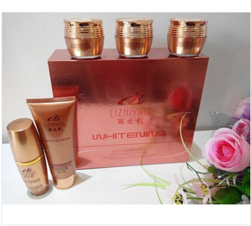 Beautiful shadow platinum five piece set beautiful shadow five in one skin care set moisturizing and brightening