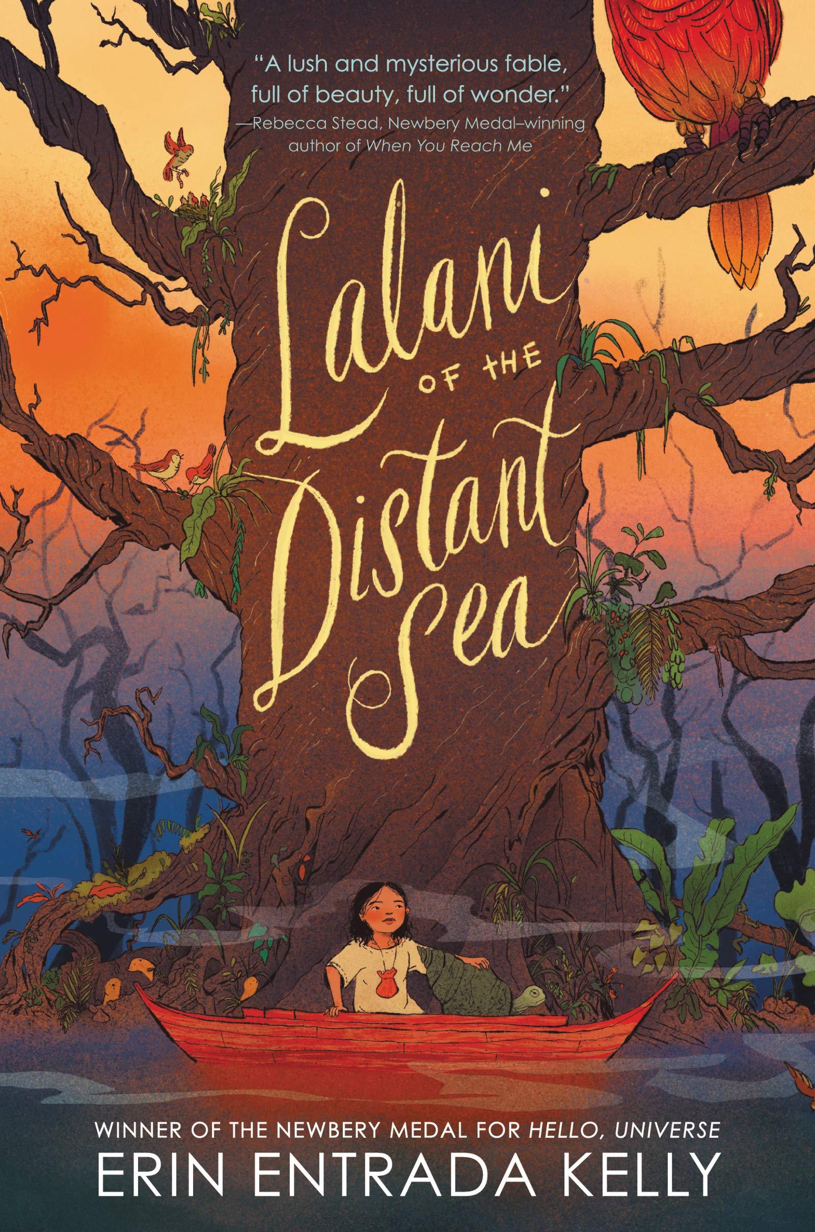 英文原版 远洋的拉拉妮 纽伯瑞奖得主Erin Entrada Kelly新作 精装 Lalani of the Distant Sea 儿童文学读物 Hello Universe