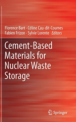 【预售】Cement-Based Materials for Nuclear Waste Storage