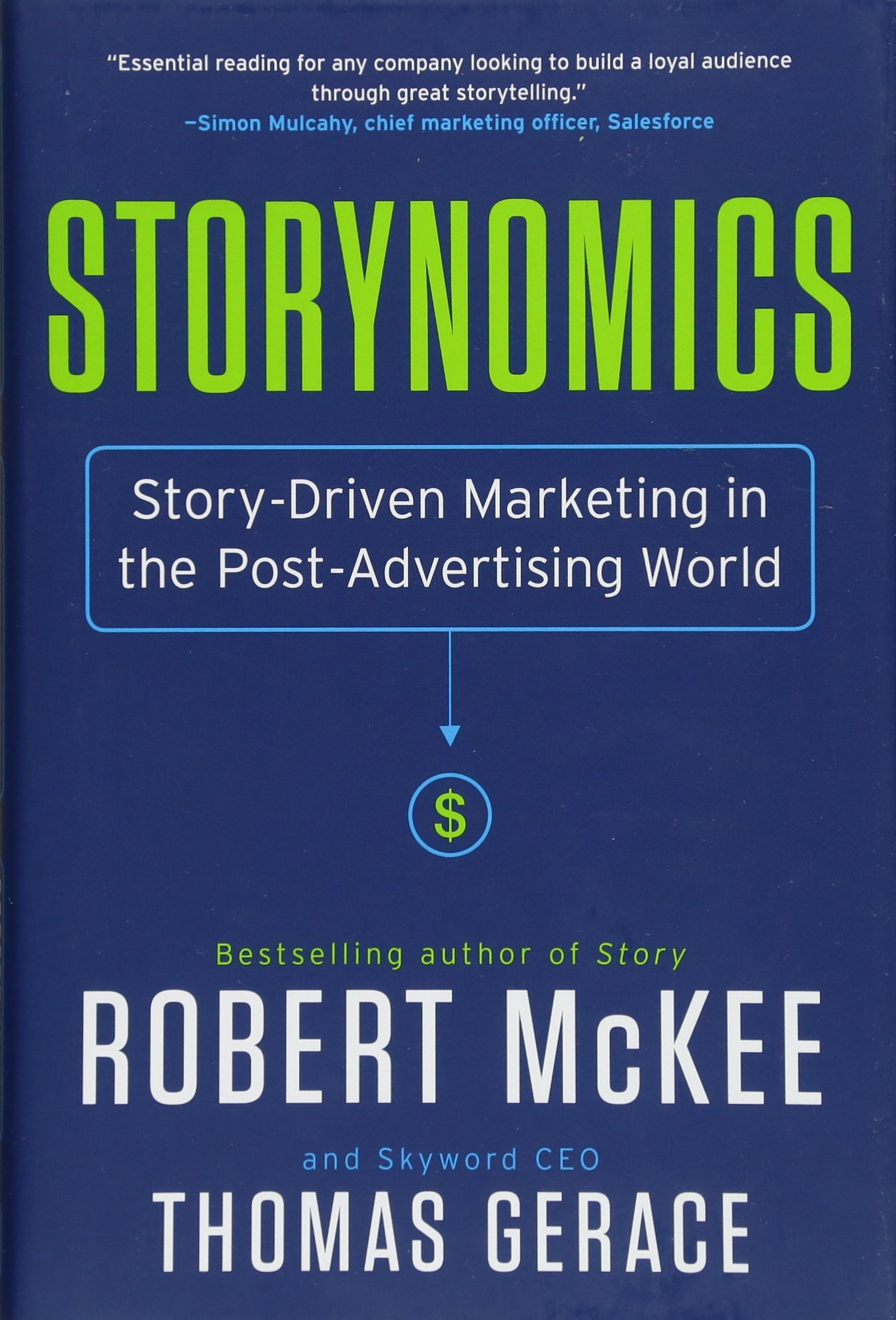 英文原版 罗伯特·麦基 (Robert McKee) 故事经济学 Storynomics: Story-Driven Marketing in the Post-Advertising World