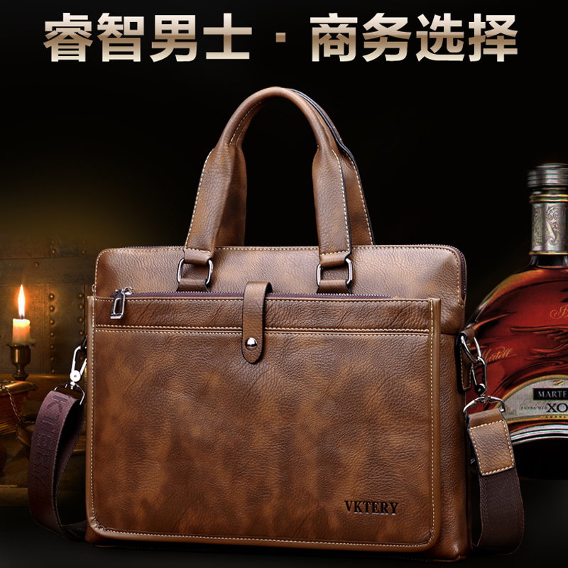 Apples new ir133 Lenovo 14 inch computer bag Dell 156 notebook portable mens business leather