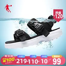 乔丹凉鞋男鞋2020夏季新款潮流鞋子男士休闲运动鞋软底凉拖沙滩鞋