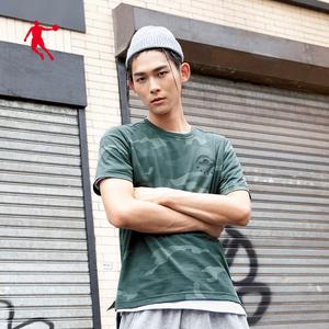 乔丹男装运动T恤男2020夏季新款潮流男士短袖T恤休闲上衣运动服男