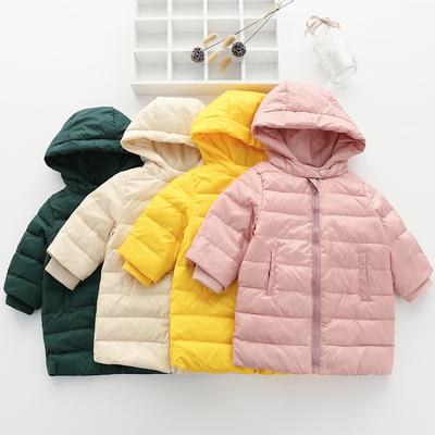 女童婴儿棉衣秋冬装0岁3男宝宝2羽绒服1小童外套装加厚棉服中长款