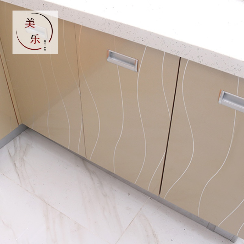 家具翻新贴纸自粘烤漆冰箱厨房橱柜衣柜子贴柜门防水贴膜防油加厚,可领取3元天猫优惠券