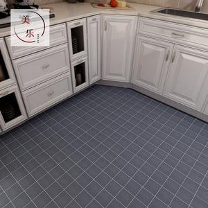 马赛克地面翻新墙贴厨房地板贴纸墙纸自粘地砖防水瓷砖贴加厚耐磨