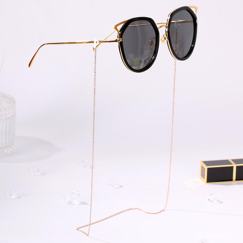 眼镜链子女防掉挂链网红带眼镜链链条配饰潮款太阳墨镜链项链挂脖