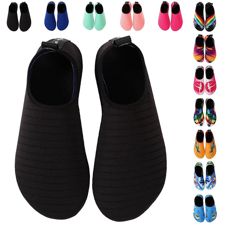 Обувь для взрослых мужские и женские Wading нескользящие Дайвинг носки детские Подводное плавание Плавание Обувь Босиком Беговая дорожка Йога Мягкая обувь