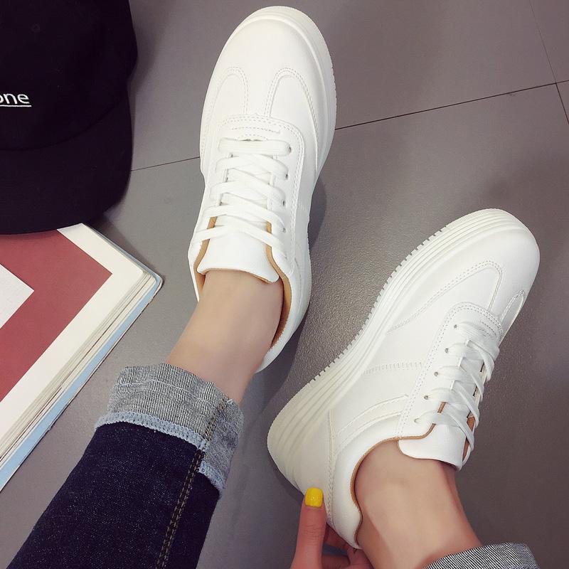 加绒小白鞋女大码女鞋41-43冬季2019新款运动鞋女40-42码休闲板鞋