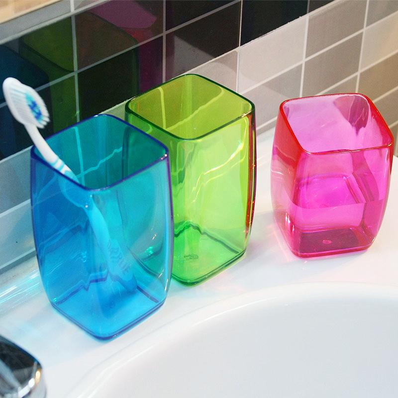 欧润哲塑料洗漱口杯家庭套装情侣杯子对杯结婚创意刷牙杯水杯牙缸