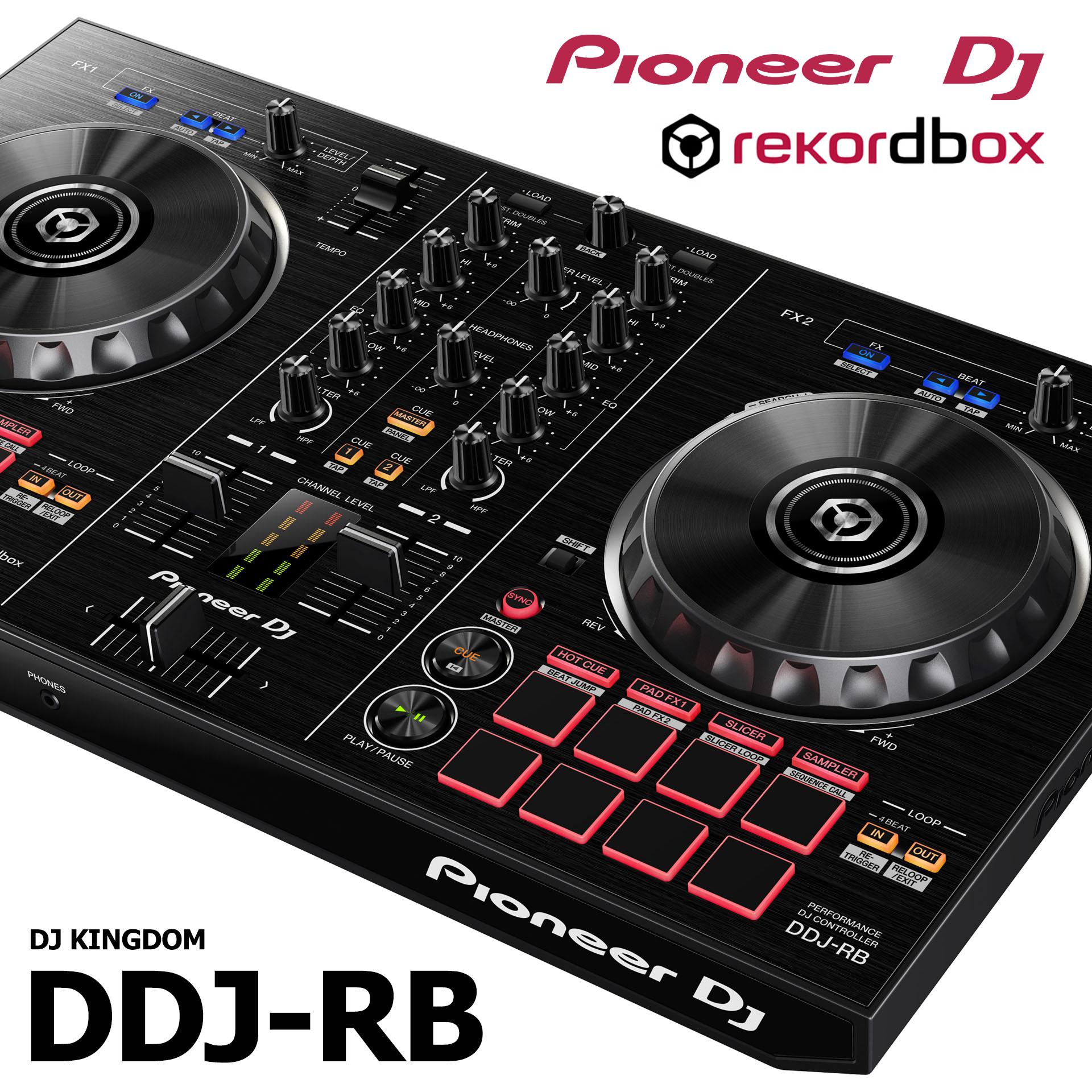 Pioneer пионер DDJ-RB ddjrb DJ контролер midi борьба блюдо машинально отдавать rekordbox пакет