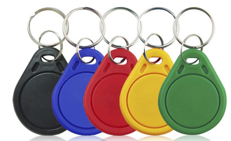 加强型IC卡钥匙扣门禁卡考勤梯控电梯卡M1卡物业补卡房卡饭卡水卡
