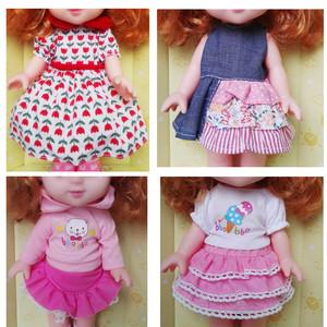 满68元包邮  家乐美洋娃娃玩具换装衣服背带  儿童过家家配件