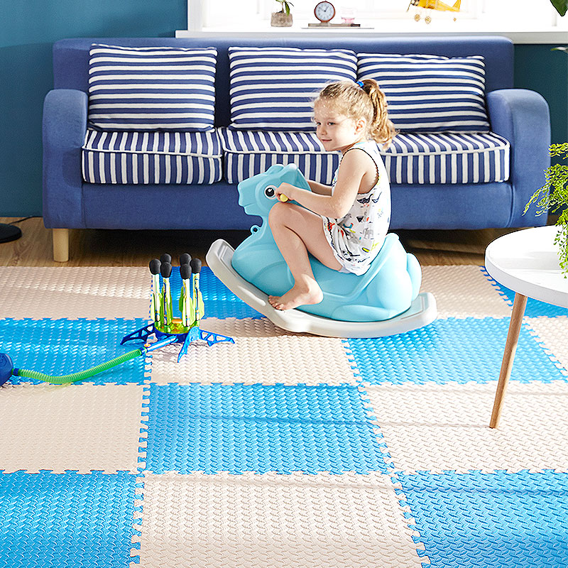 明德泡沫爬行垫儿童卧室榻榻米拼图