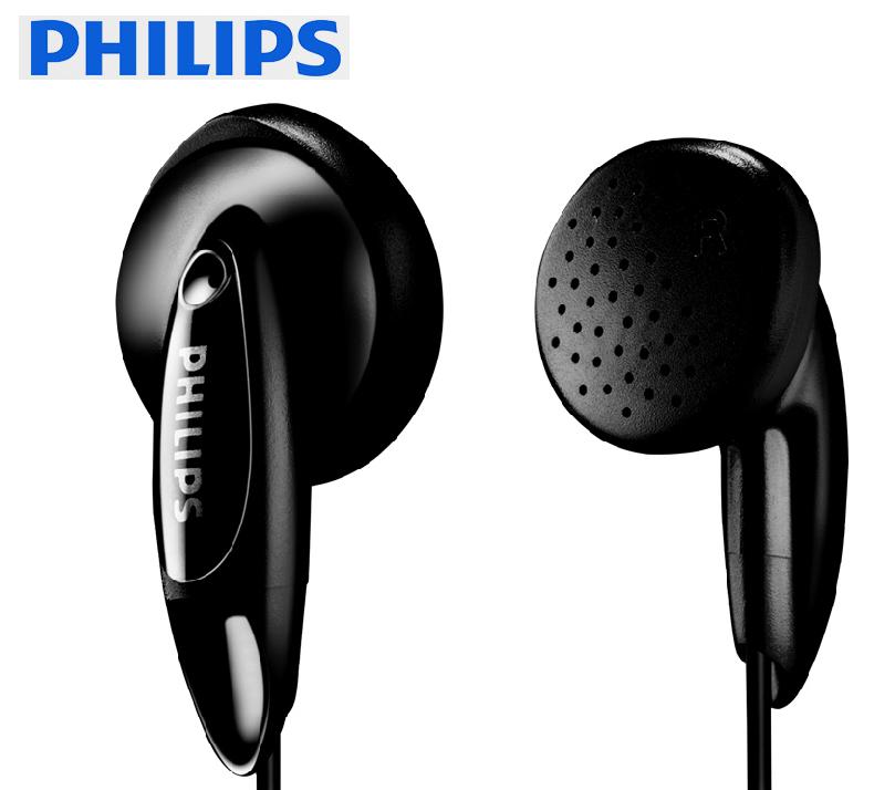 12-02新券Philips/飞利浦 SHE1350/00耳机入耳式耳塞式手机电脑平头塞耳机