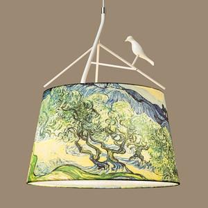 北欧创意美式乡村卧室艺术韩式吊灯