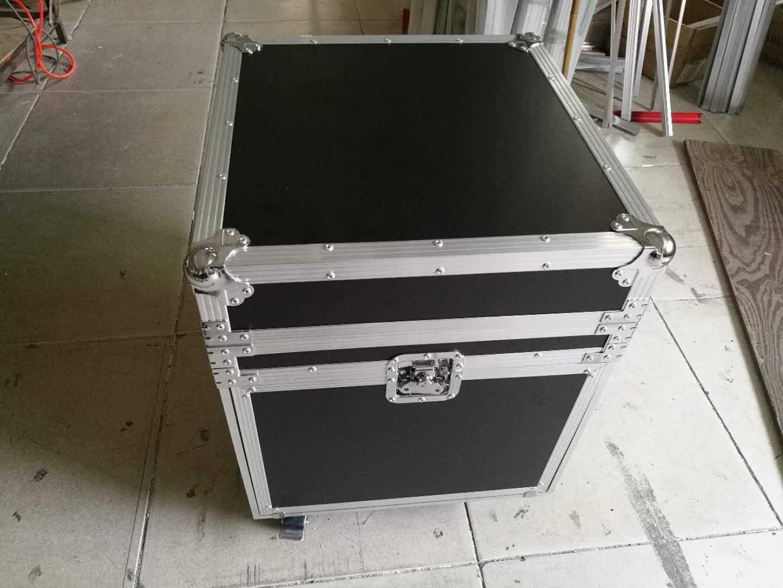 5u顶门带前后简易门带工作台功放机柜调音台箱航空箱机箱