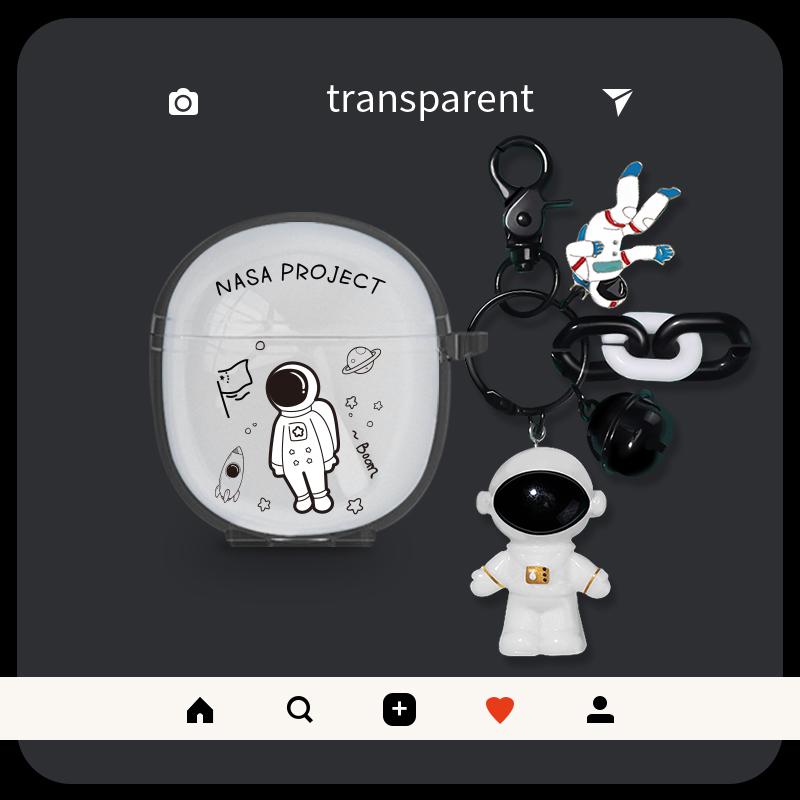 适用适用vivo tws neo保护套宇航员twsneo真无线蓝牙耳机盒潮牌卡