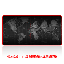 Game mouse pad large 40*80 LOL cartoon anime keyboard pad Thicken Large sewing desk pad