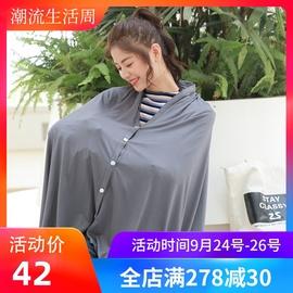 夏季外出薄哺乳巾透气神器喂奶遮挡罩衣遮羞布多功能斗篷辣妈款
