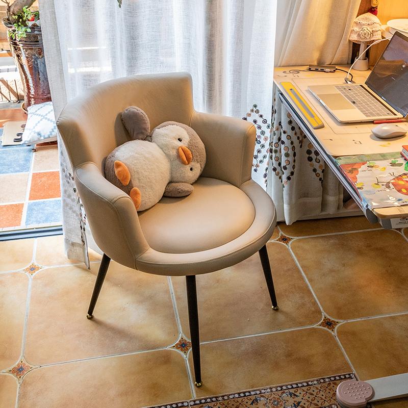 电脑椅子家用舒适单人卧室学生转椅性价比高吗