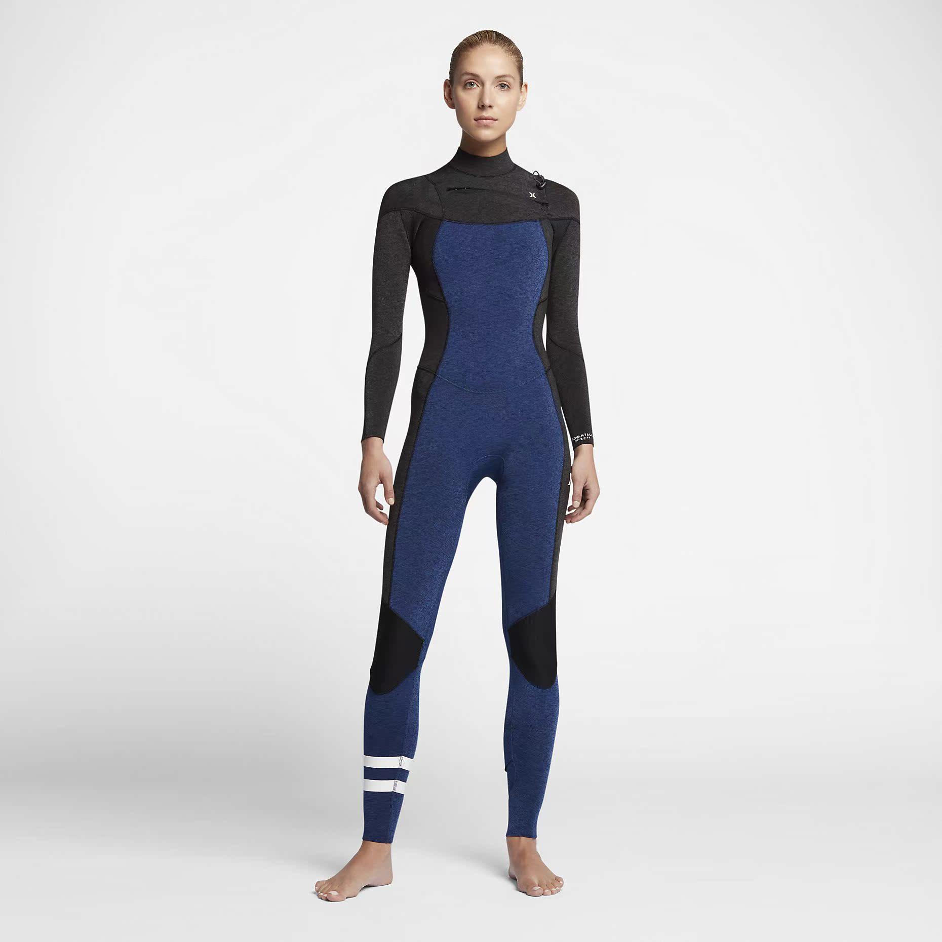 Прибой холодный одежда мокрый одежда дайвинг одежда Hurley 3/2mm Fullsuit Wetsuit женские модели